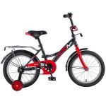 Велосипед 16 дюймов Novatrack STRAIKE черно-красный 163STRAIKE.BKR8