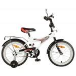 Велосипед 16 дюймов NOVATRACK Turbo белый 167turbo.WT7