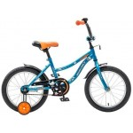 Велосипед 16 дюймов Новатрек NEPTUNE синий