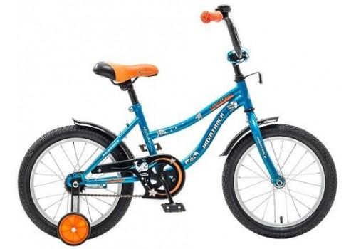 Велосипед детский 16 дюймов Новатрек NEPTUNE синий