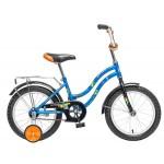 Велосипед Новатрек 16 дюймов TETRIS синий