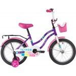 Велосипед 16 дюймов Novatrack TETRIS фиолетовый 098580/124269