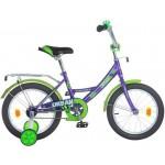 Велосипед 16 дюймов Новатрек URBAN фиолетовый