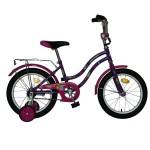 Велосипед 16 дюймов  Novatrack TETRIS фиолетовый 098580