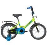 Велосипед 16 дюймов NOVATRACK Forest салатовый 140830