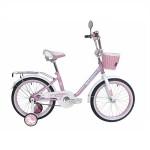 Велосипед 16 дюймов Black Aqua Princess розовый-белый KG1602