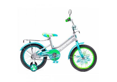 Велосипед 18 дюймов Black Agua Lady серебро бирюза KG1815
