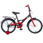 Велосипед 18 дюймов NOVATRACK STRIKE черно/красный 183STRIKE.BKR8