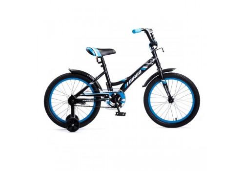 Велосипед 18 дюймов Навигатор Bingo чёрный с синим 18098