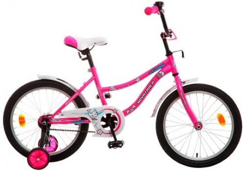 Велосипед 18 дюймов Новатрек NEPTUNE розовый