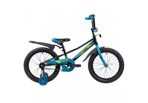 Велосипед 18 дюймов Новатрек VALIANT черный