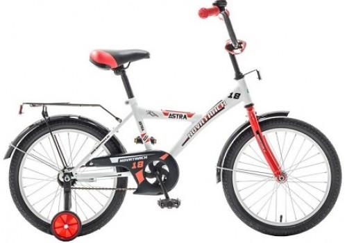 Велосипед 18 дюймов Новатрек ASTRA белый