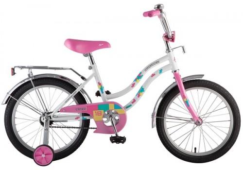 Велосипед 18 дюймов Новатрек TETRIS белый