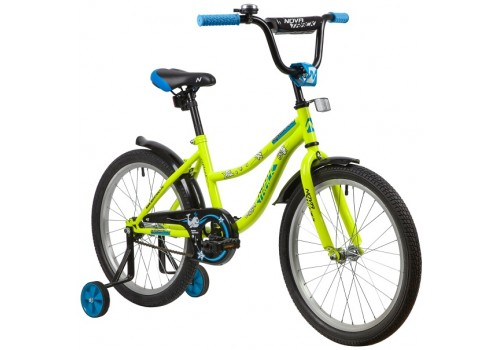 Велосипед 18 дюймов Новатрек NEPTUNE салатовый