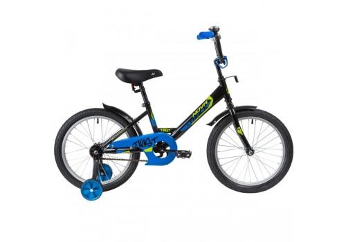Велосипед 18 дюймов Новатрек TWIST черный 181TWIST.ВК20