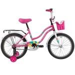 Велосипед 18 дюймов Новатрек TETRIS розовый 181TETRIS.PN20