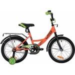 Велосипед NOVATRACK VECTOR 18 дюймов оранжевый 183VECTOR.OR9