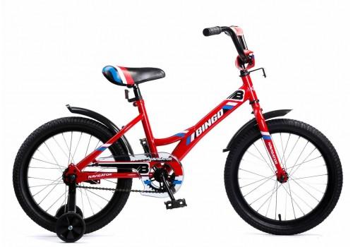 Велосипед 18 дюймов Navigator Bingo Вм18108 Красный