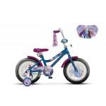 Велосипед 18 дюймов DISNEY Холодное сердце 2 сине/фиолетовый ВН18122