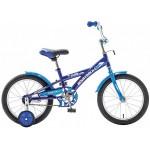 Велосипед 18 дюймов Новатрек Delfi синий/голубой