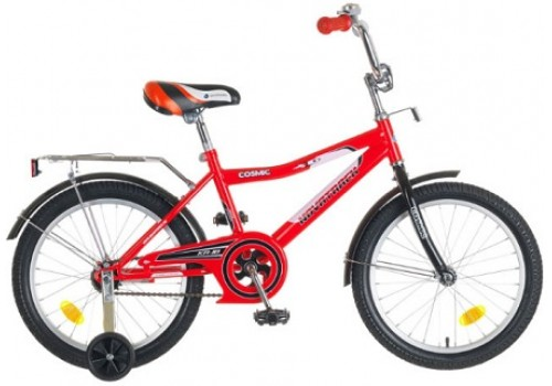 Велосипед 18 дюймов Новатрек COSMIK красный
