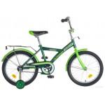 Велосипед 18 дюймов Новатрек YT FOREST зеленый