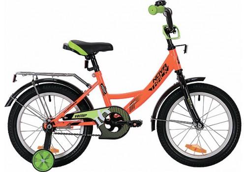 Велосипед 20 дюймов Novatrack VECTOR оранжевый 203VEKTOR.OR9