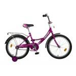 Велосипед 20 дюймов Новатрек Vector фиолетовый