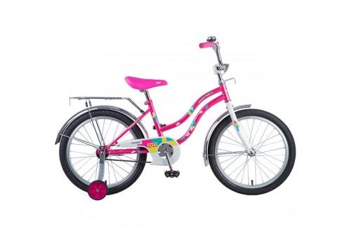 Велосипед 20 дюймов Новатрек TETRIS розовый 126762