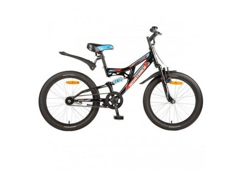 Велосипед детский 20 дюймов SHARK 1-скоростной Falcon черный
