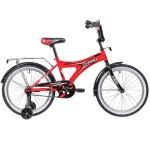 Велосипед 20 дюймов Novatrack TURBO монокок красный 207TURBO.RD9