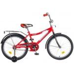 Велосипед 20 дюймов Novatrack COSMIK красный