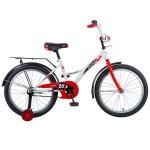 Велосипед 20 дюймов NOVATRACK STRIKE белый-красный 203STRIKE.WTR8