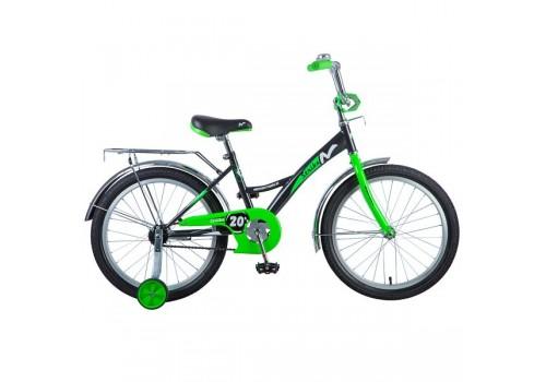 Велосипед 20 дюймов NOVATRACK STRIKE черный-зеленый 203STRIKE.BKG8.