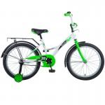 Велосипед 20 дюймов NOVATRACK STRIKE бело-зеленый 203STRIKE.WTG8