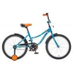 Велосипед 20 дюймов Новатрек NEPTUN BL5 синий