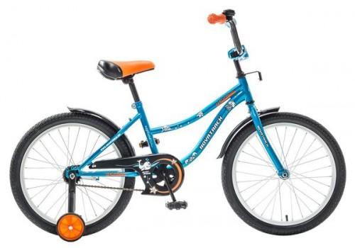 Детский велосипед 20 дюймов Novatrack NEPTUN BL5 синий