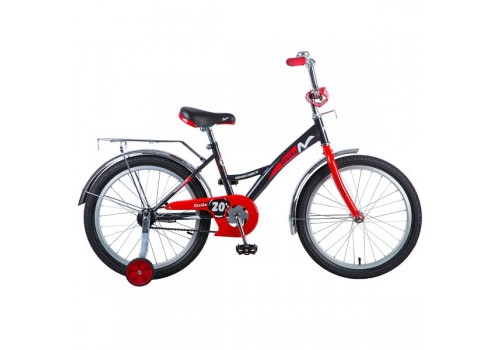 Велосипед 20 дюймов NOVATRACK STRIKE, черный-красный 203STRIKE.BKR8