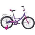 Велосипед 20 дюймов Novatrack vector лиловый 203VECTOR.LC9