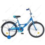 Велосипед 20 дюймов Новатрек Vector синий