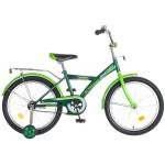 Велосипед Новатрек 20 дюймов YT FOREST зеленый