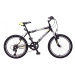 """Велосипед 20 дюймов Топ Гир Parcours 210 14"""" 6 скоростей желто/черный (983060)"""