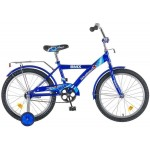 Велосипед 20 дюймов Новатрек ВМХ синий