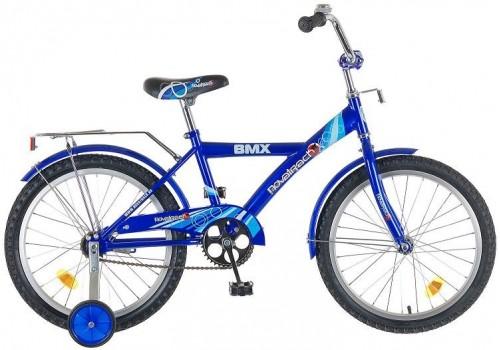 Детский подростковый велосипед 20 дюймов Новатрек ВМХ синий