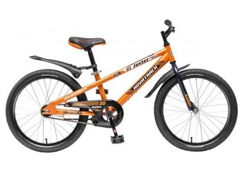 Велосипед 20 дюймов Новатрек JUSTER OR5 оранжевый