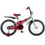 Велосипед 20 дюймов Новатрек Flightline серый 207FLIGHTLINE.GR8