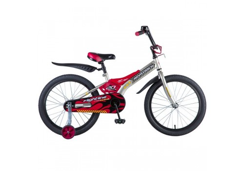 Детский Велосипед 20 дюймов Новатрек Flightline серый 207FLIGHTLINE.GR8