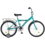 Велосипед 20 дюймов Новатрек ВМХ мятный/серый