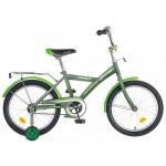 Велосипед 20 дюймов Новатрек YT FOREST серо/зеленый 201FOREST GR6