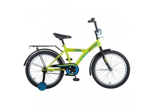 Велосипед 20 дюймов NOVATRACK  YT FOREST зелёный с черным  201FOREST.GN8